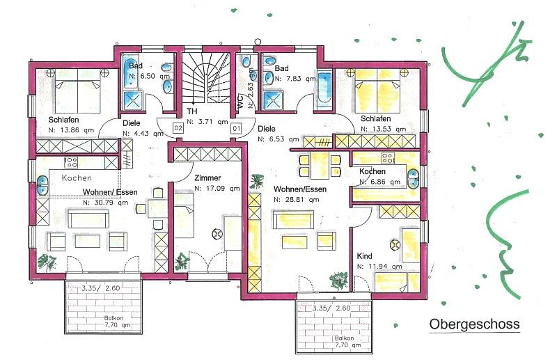 4 familienhaus in moos. Black Bedroom Furniture Sets. Home Design Ideas